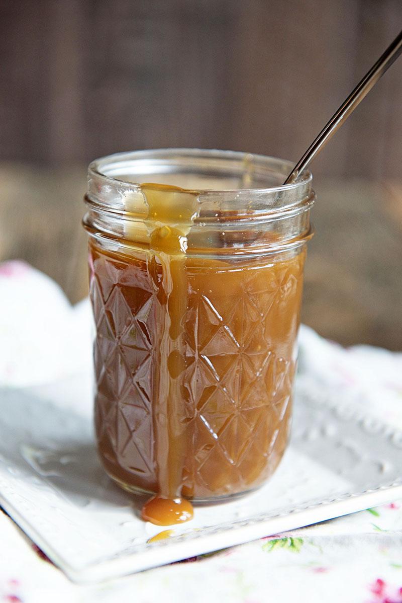 Salted Caramel Ribbon Crunch Ice Cream