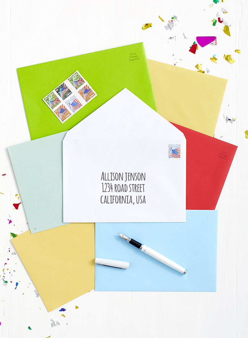 Your BFF will love getting a handwritten note