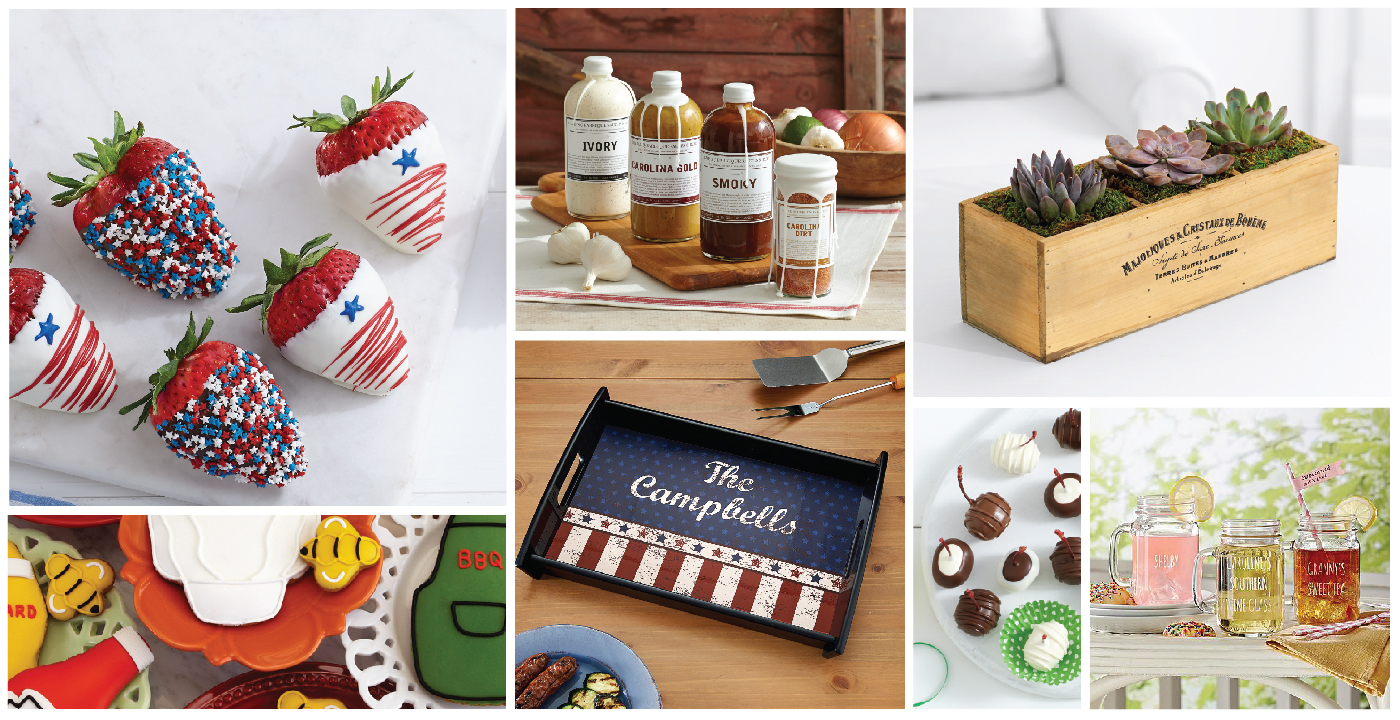 Fourth of July Hostess Gifts