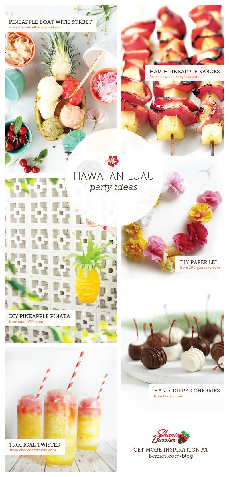 Summer Party Theme Idea: Hawaiian Luau