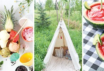3 Awesome Summer Party ideas