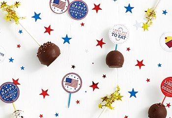 DIY: 4th of July Clever Food Flag Printables