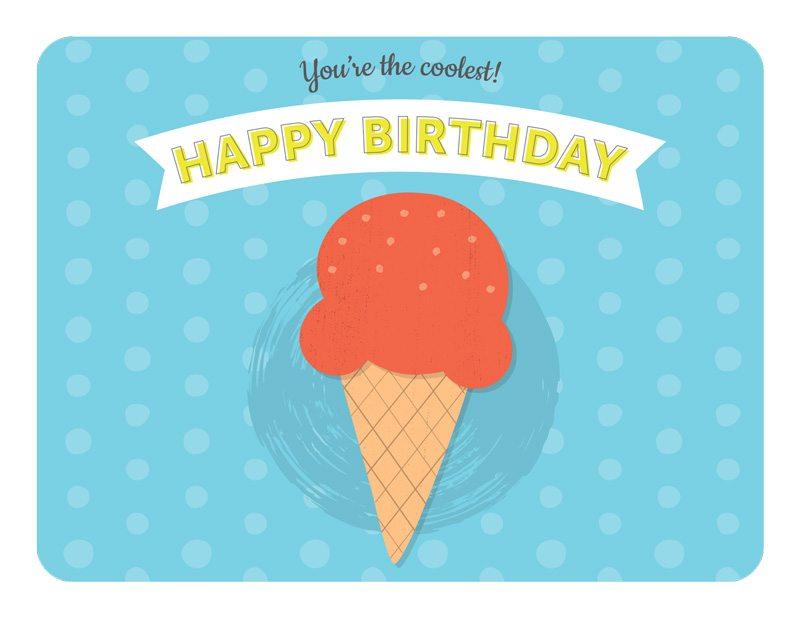 10 Sweet Free Printable Birthday Cards Sharis Berries – Free Birthday Card to Print