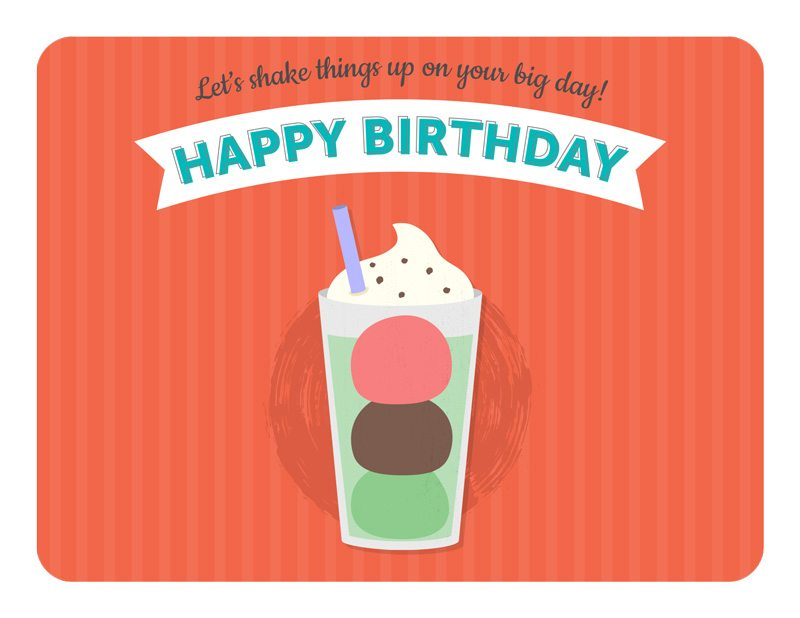 Let's Shake Things Up On Your Big Day - Happy Birthday!