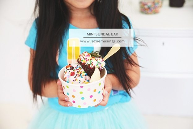 Mini Sundae Bar (with Shari's Berries) by Le Zoe Musings