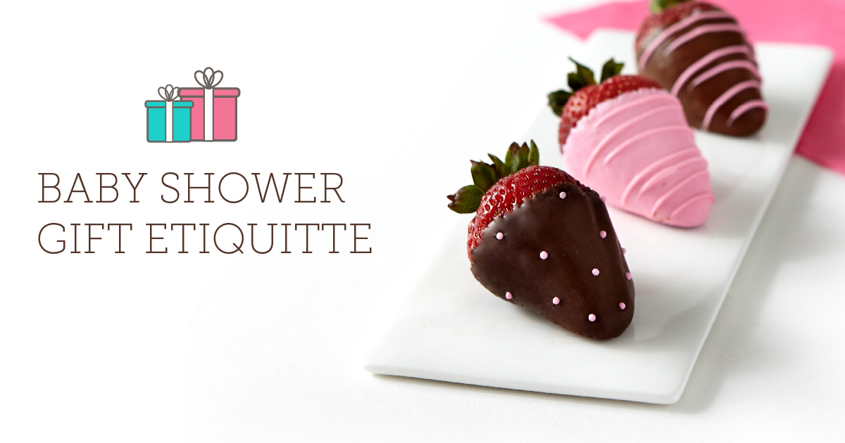 Baby Shower Gift Etiquette - Shari's Berries Blog