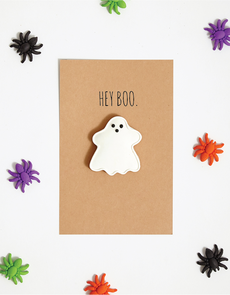 DIY: Hilarious Ghost Halloween Card