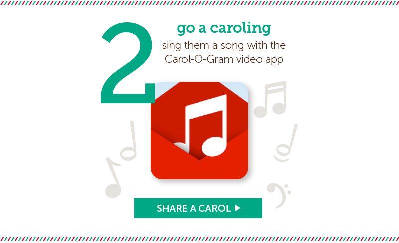 Go Caroling american greetings