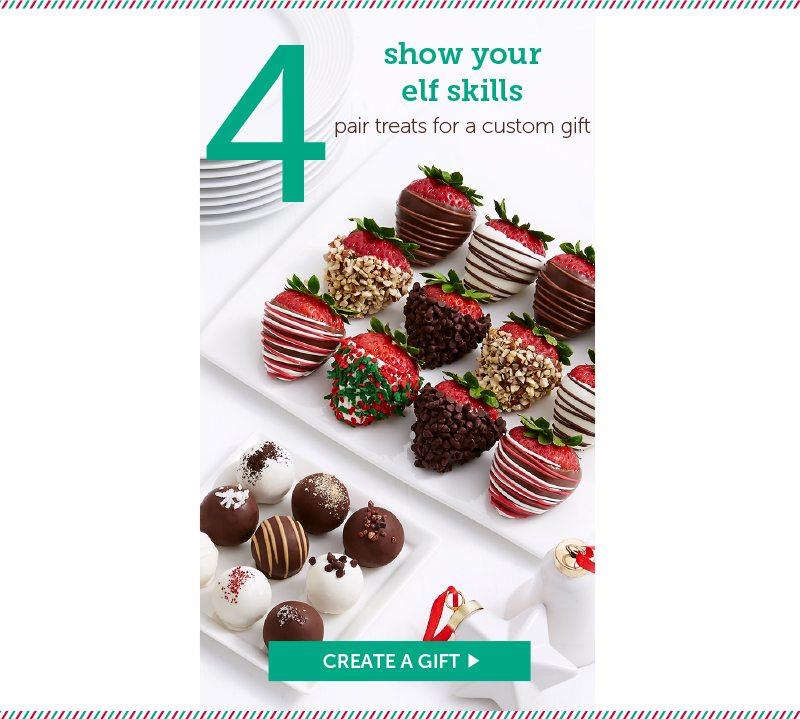 Show your elf skills with shari's berries