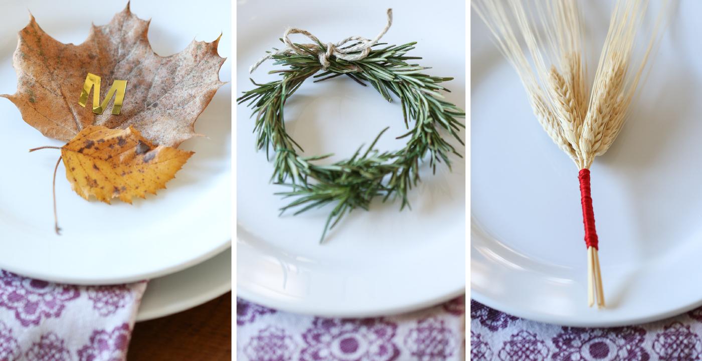3 quick thanksgiving table decorations   shari's berries blog