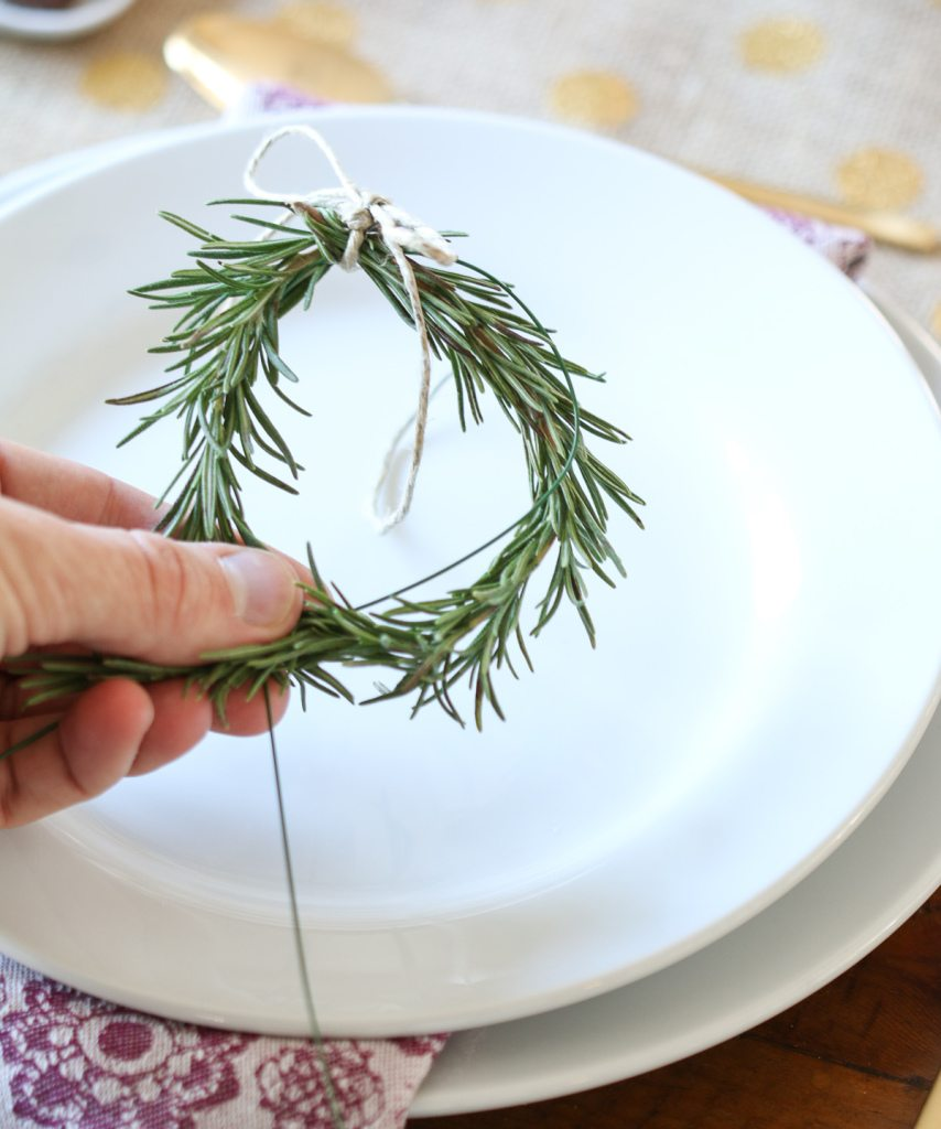 rosemary wreath DIY2
