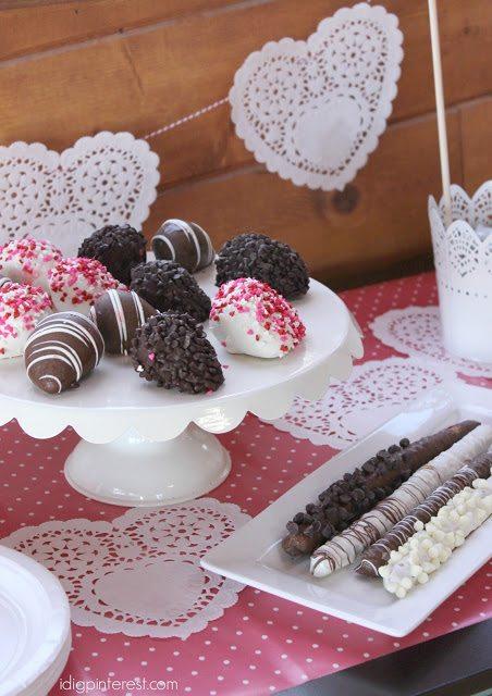 chocolate covered pretzels and strawberries Shari's Berries