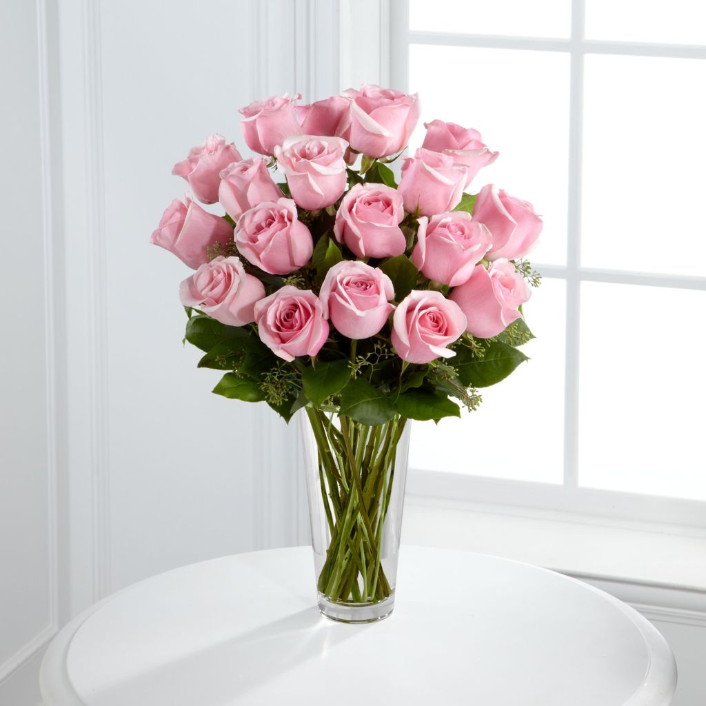 ftd pink rose bouquet