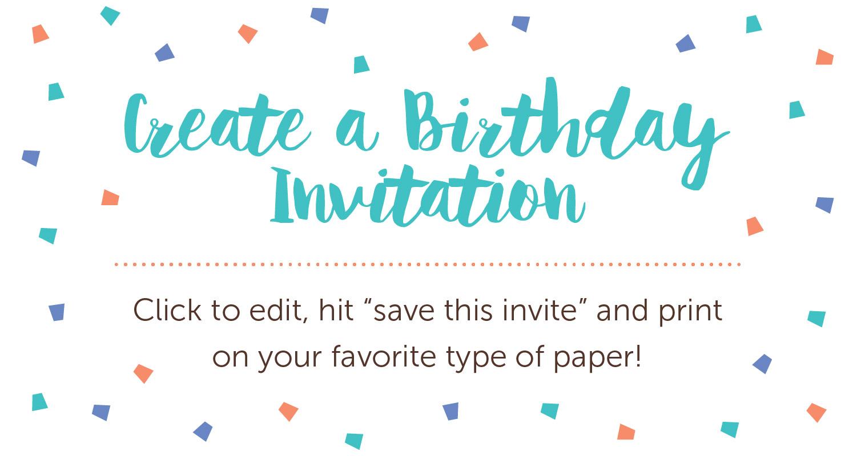 Birthday invitation wording ideas and printables sharis birthday invitation wording stopboris Choice Image