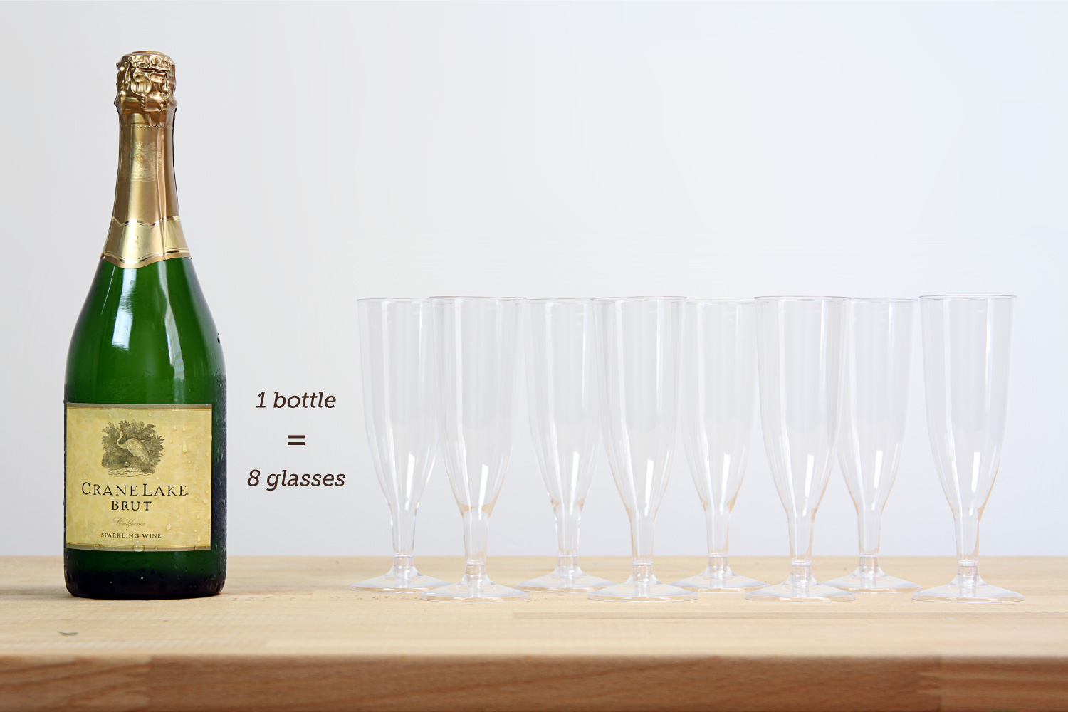 Diy mimosa bar styling ideas and recipes shari 39 s for How many mimosas per bottle of champagne