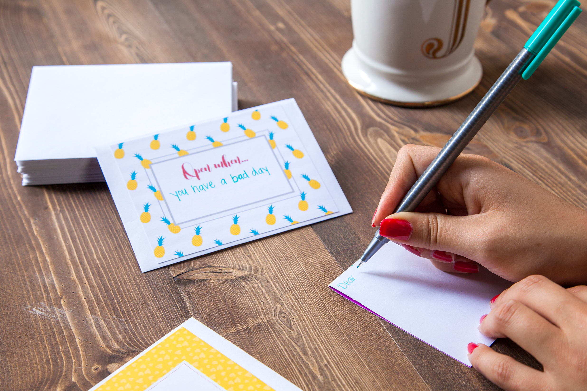 Open when letters 280 ideas printables sharis berries blog encouragement letters are simple ways to keep people going in rough times give these to a friend a child or even to your future self spiritdancerdesigns Images