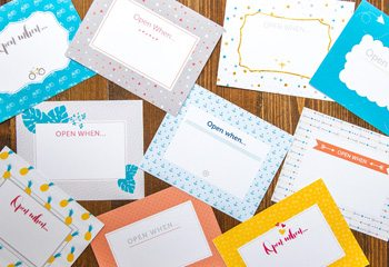 Open When Letters: 280 Ideas + Printables - Shari's Berries Blog