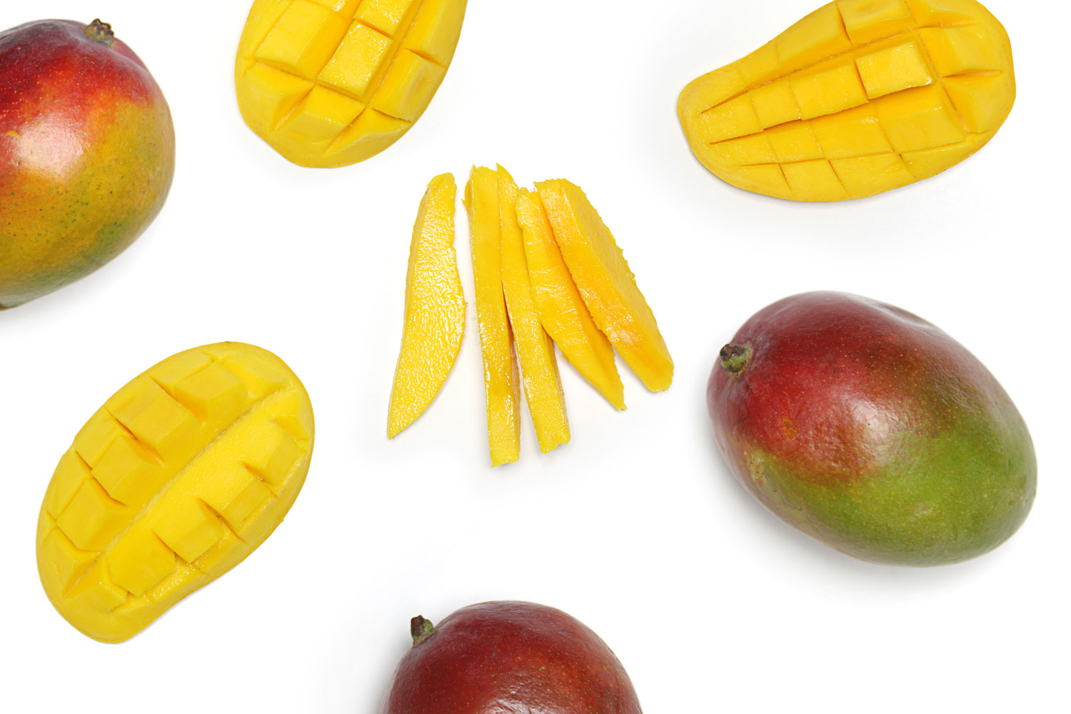 How To Cut A Mango In 7 Steps Or Less (video)