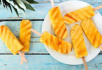 grilled fruit feature