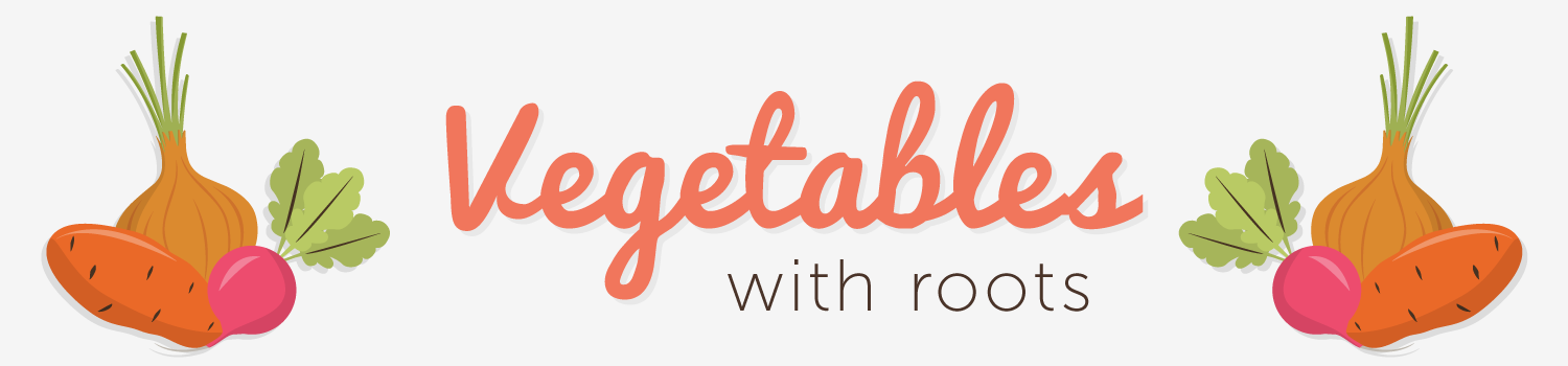 vegetables with roots header