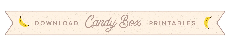 candy box button