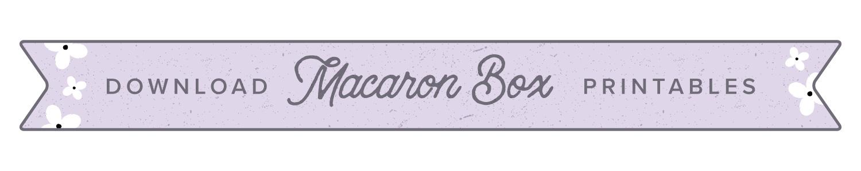 macaron box button