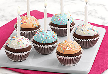 Birthday Brownie Pops