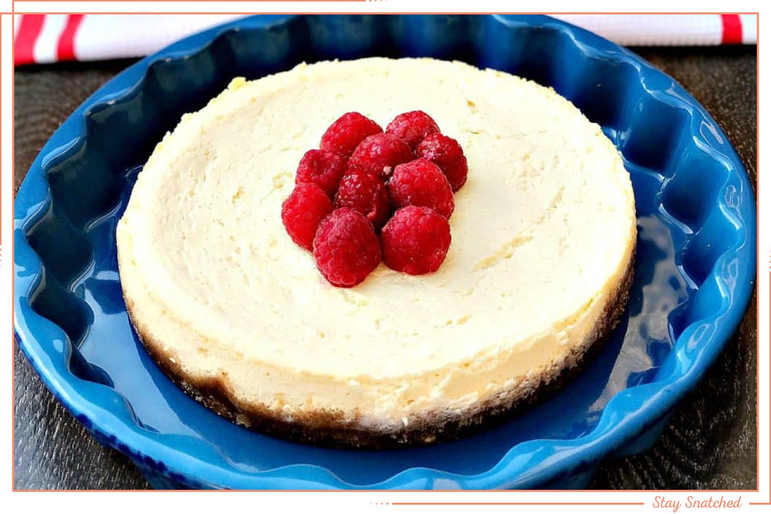 raspberry cheesecake instant pot dessert recipe