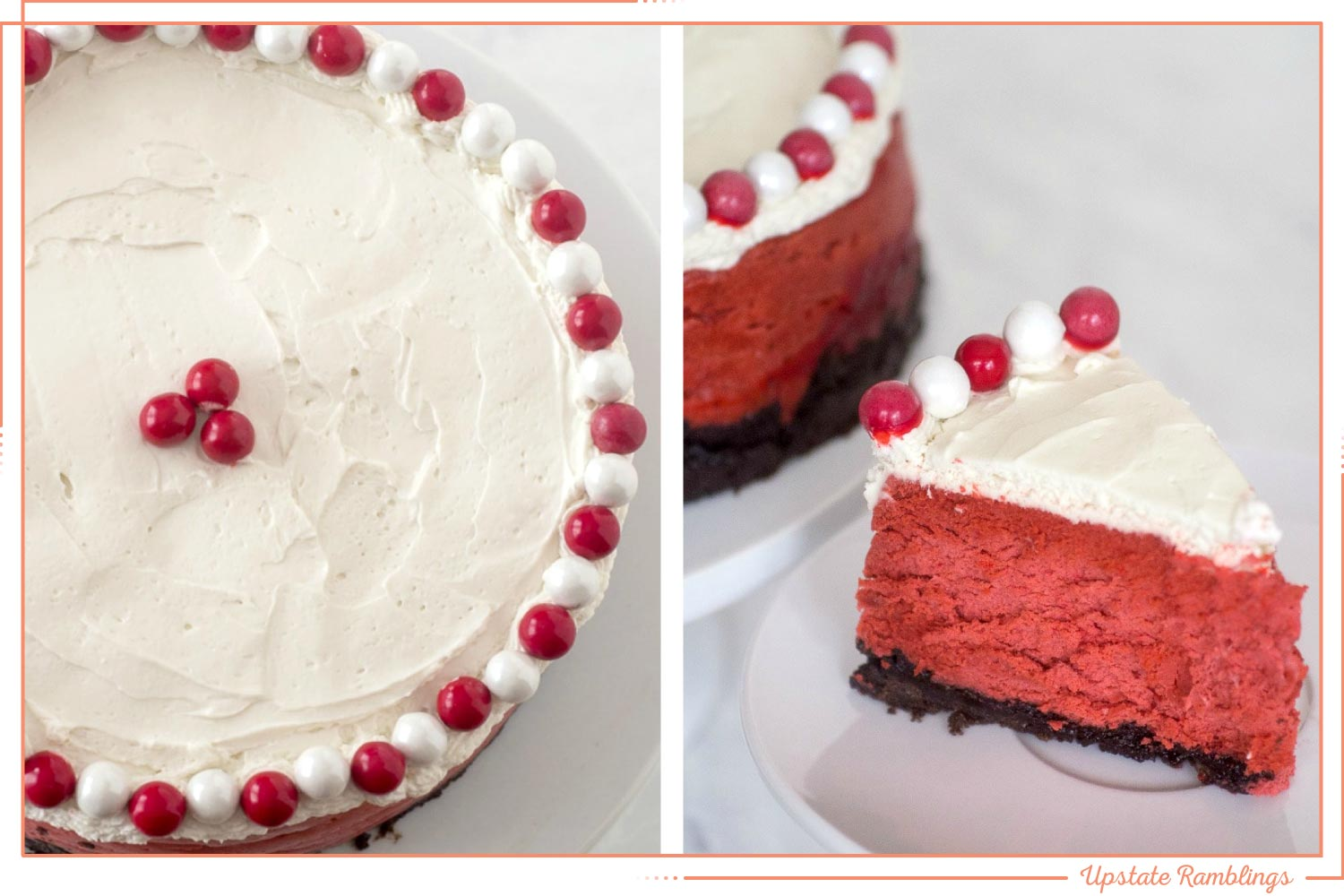 red velvet cheesecake instant pot dessert recipe