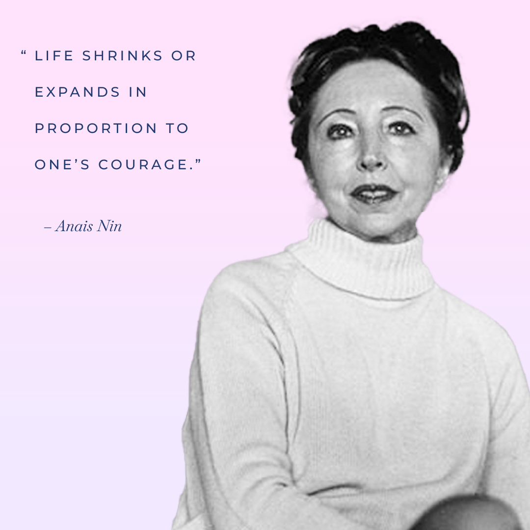 Anais Nin International Women's Day