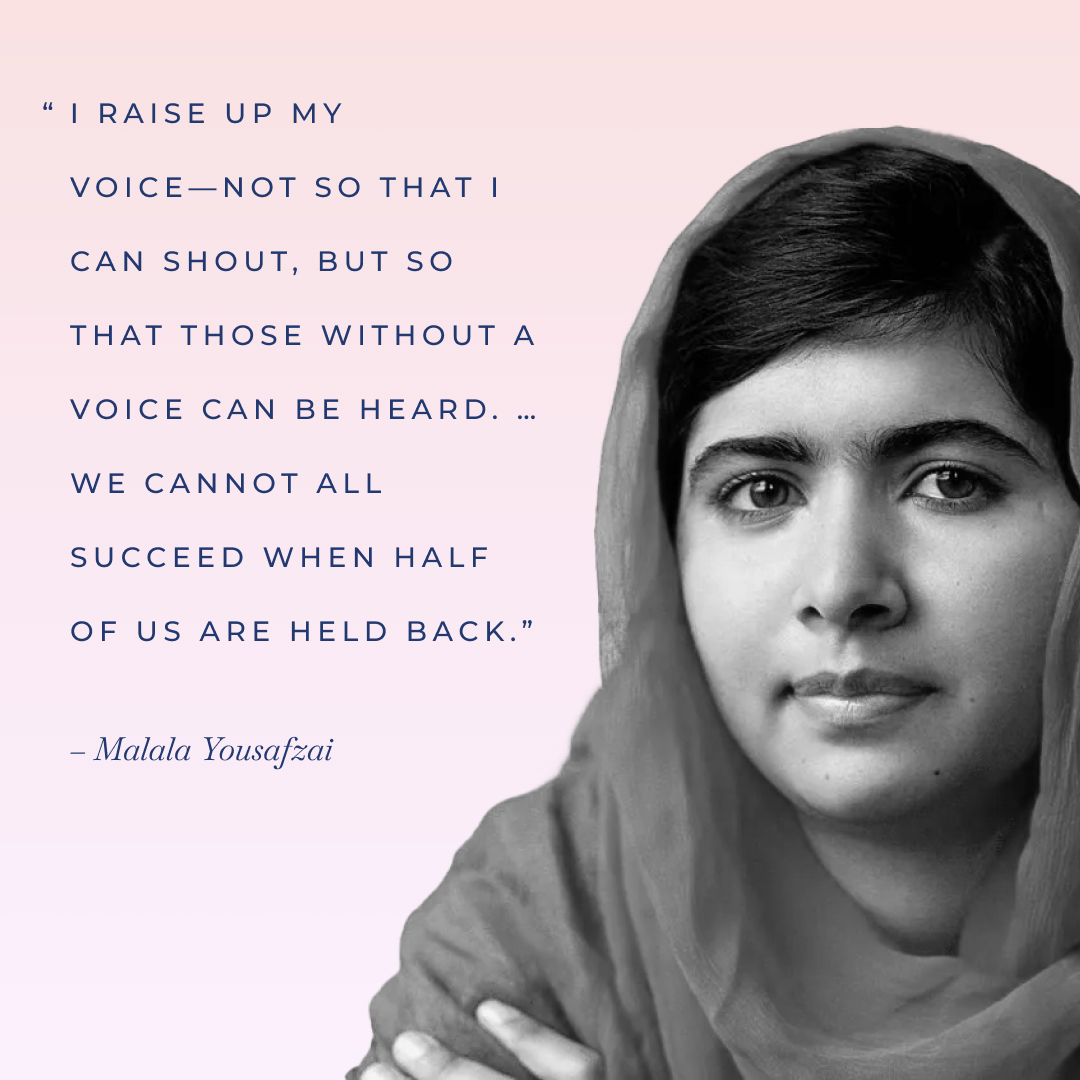 Malala Yousafzai international women's day