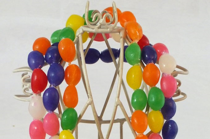 jelly bean necklaces