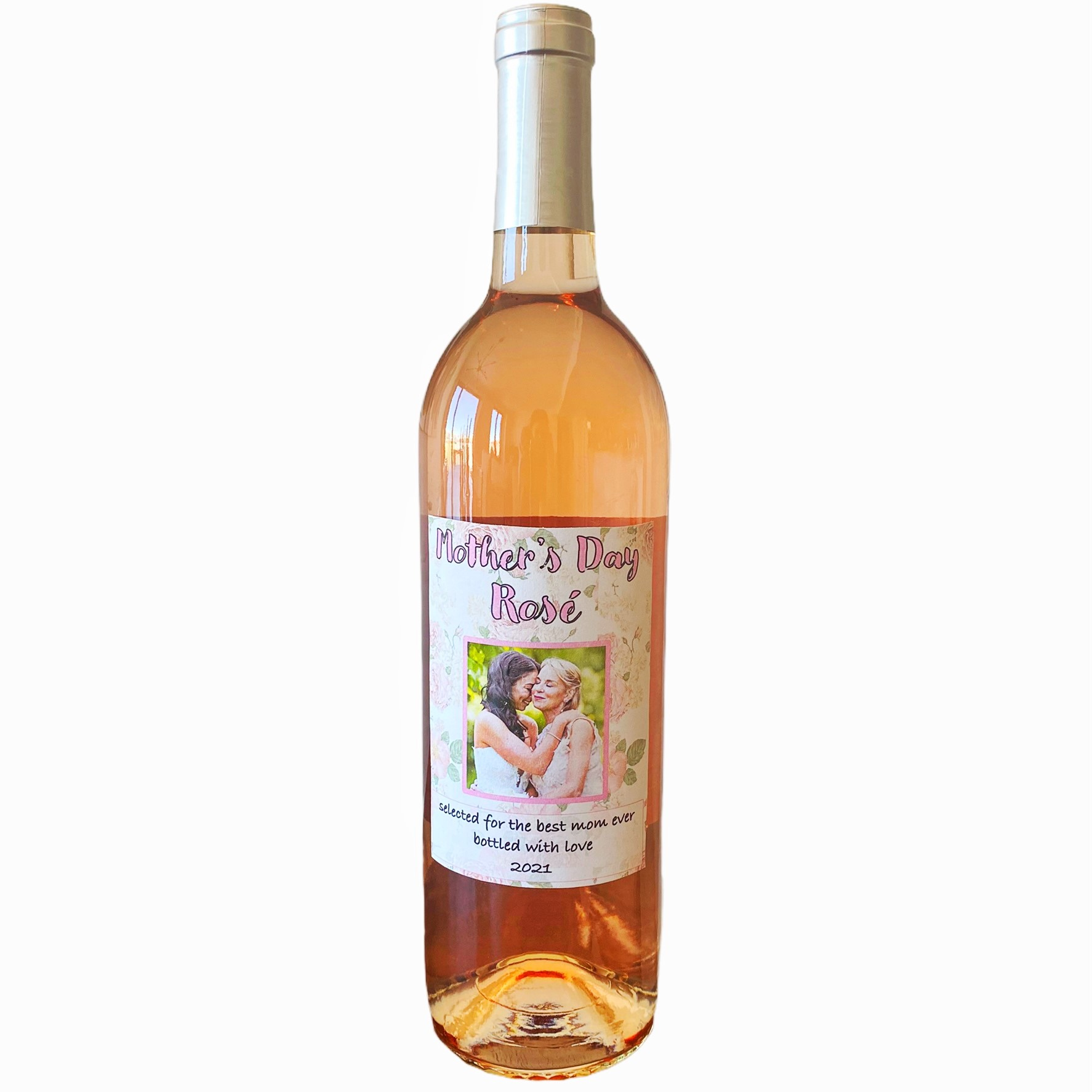 personalized wine bottle for mom