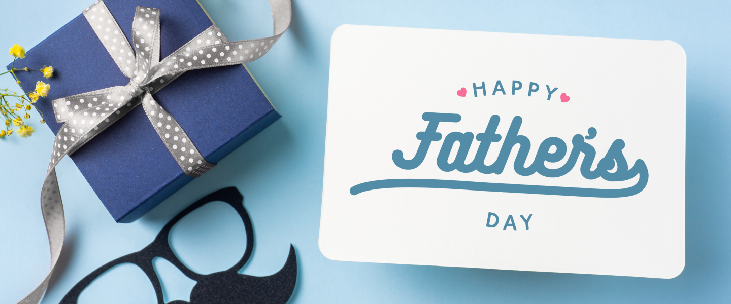 fathers day gift banner