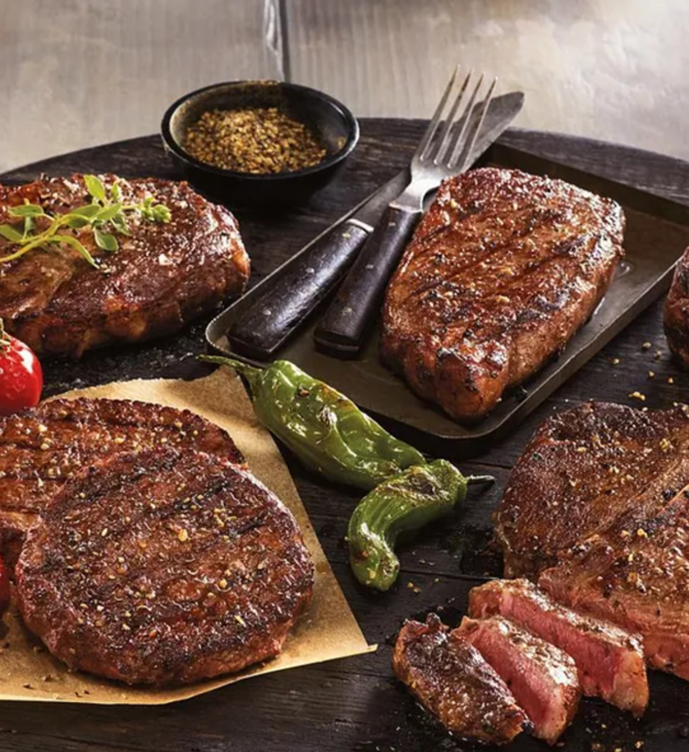 steaks meats dad
